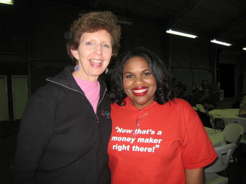 09 11-14 Linda Fuller and Beverly Black at Fish Fry & Auction Fundraiser lcf