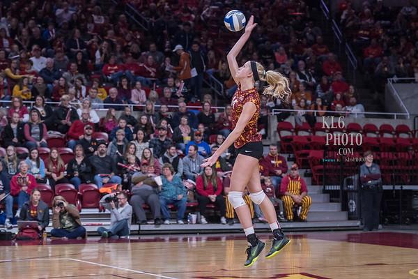 ISU Volleyball vs Texas 11/11/17