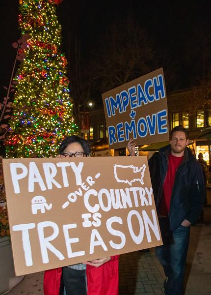 Impeachment Eve - Palo Alto