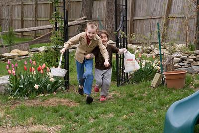 Cousins egg hunt April 22