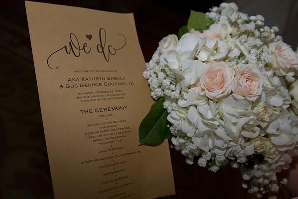 Ana and Trip Wedding Proof Sets