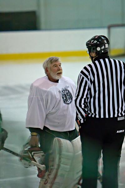 Geezer Hockey League, Steel Ice Center, Bethlehem, PA, 22 March 2009