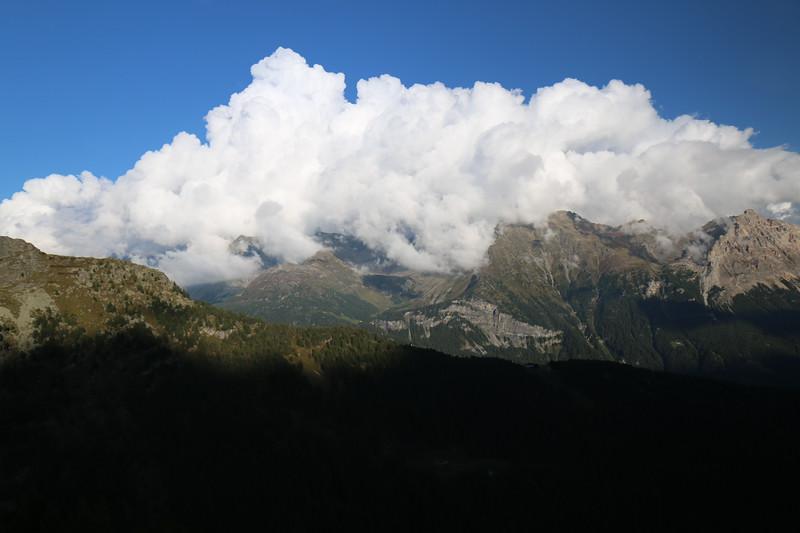 View from Albergo Belvedere