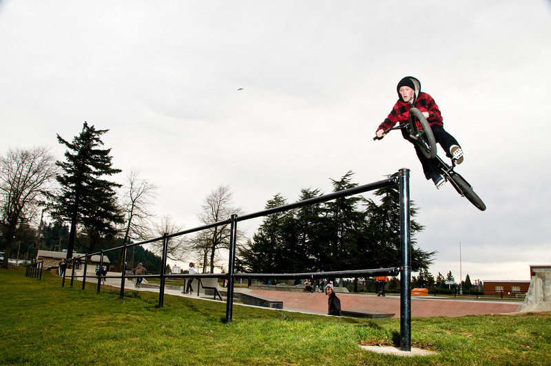 Action Photos of Skateboarders