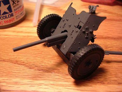 PAK 35/36 3.7 cm antitank gun Tamiya 35th scale (LW)