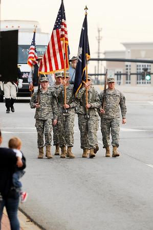 ROTC @Veteran Day Parade