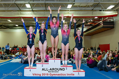 HS Sports - Viking Gymnastics Invite [d] Jan 05, 2019
