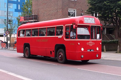 Metroline Hollowway Open Day service buses