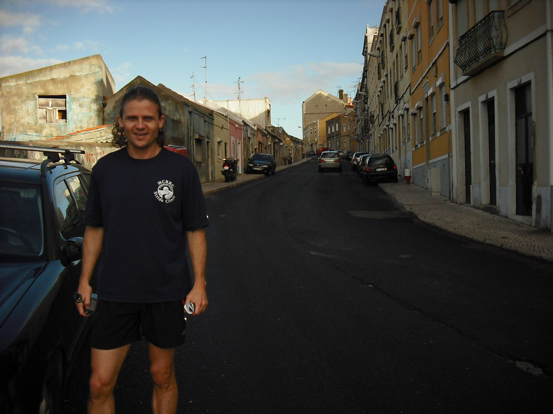 Lisbon, Portugal.  The Attache and I went for a morning run through some neighborhoods.