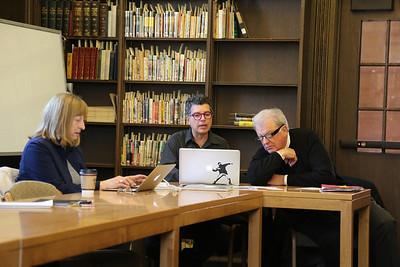 James Blue Project Richard Blue Visit