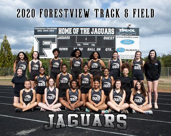 2020 Forestview Team