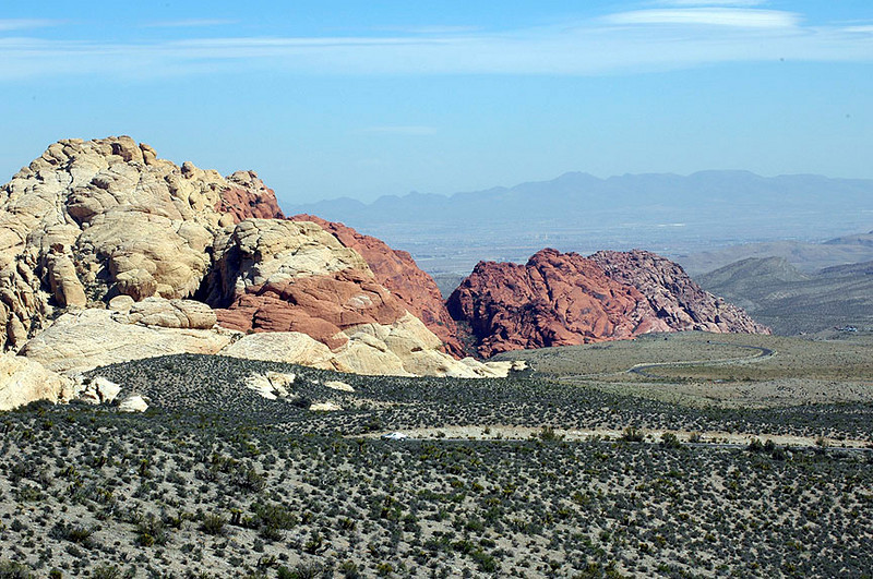 "Red Rock Park. All this beauty only a short 15-minute drive from the Las Vegas ""Strip."""