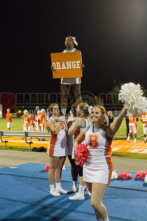 Dr. Phillips Panthers @ Boone Braves JV Football - 2014