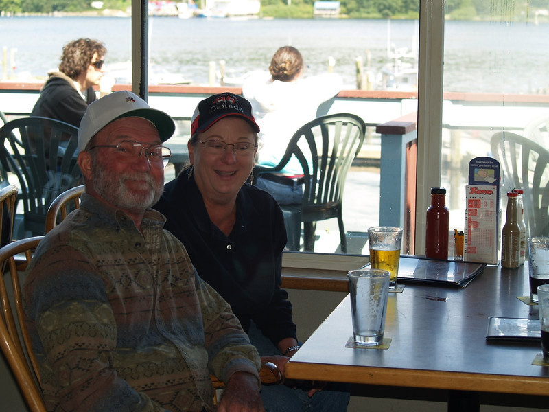 Had lunch at the Weigh West Marine Pub in Tofino.