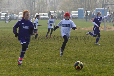 11 Girls Jackson Fury vs Cleveland United Blue