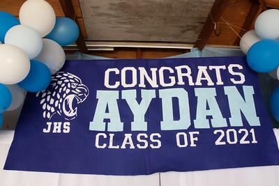 Aydan Grad Celebration
