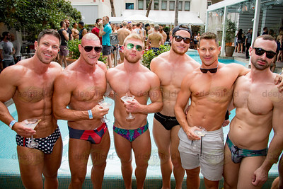 Sydney Mardi Gras Pool Party 26 02 2018