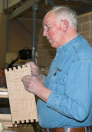 Woodworkers March 2005
