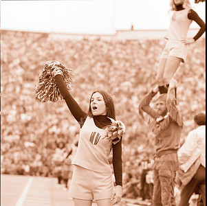 WVU vs East Carolina October '71
