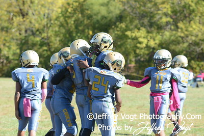 10-10-2015 Montgomery Village Sports Association Chiefs  JR Pee Wee vs Southern Maryland Eagles, Photos by Jeffrey Vogt Photography