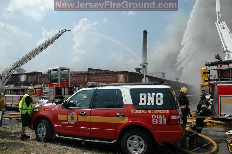 6-27-10 PA Philadelphia 34&Clearfield St.'s- 4th Alarm Warehouse