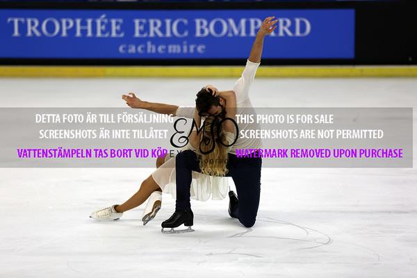 Trophée Eric Bompard Ice dance Free Dance