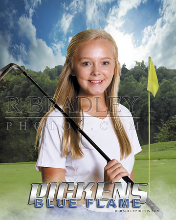 2019 Pickens High Girls Golf