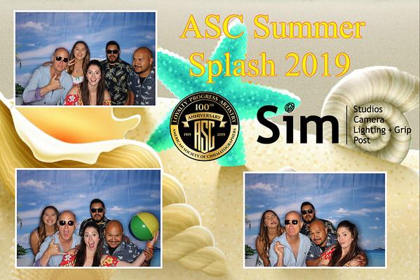 ASC & Sim Summer Splash