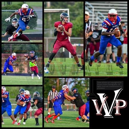 Rock Ridge @ Gar-Field Varsity Boys Football 8-16-18 | Scrimmage