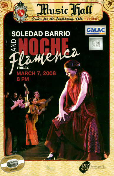 Detroit Music Hall : : : Noche Flamenca