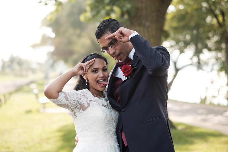 Catherine & Sadashiv's Wedding at St. Bridget Catholic Church / Franchesco's