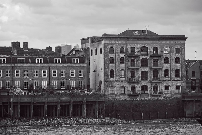 Rotherhithe from Wapping