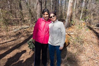 Mistletoe State Park Hike 3/4/17
