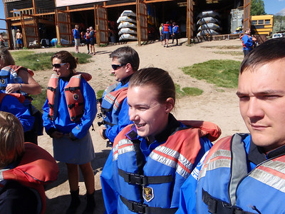 Rafting Browns Canyon, CO
