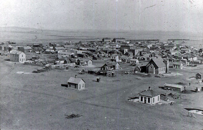 Chadron – looking to the northeast in about 1897