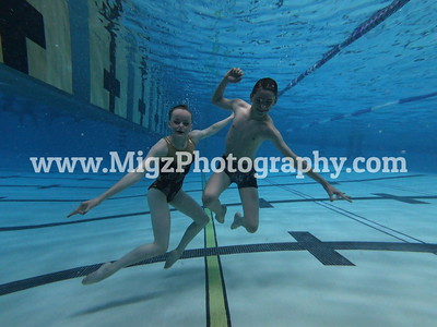 Mixed Duet 1 -2 Underwater Posed