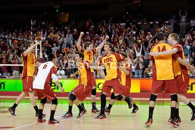 USC vs UCLA @ USC, 1st round of MPSF Playoffs 4/23/11