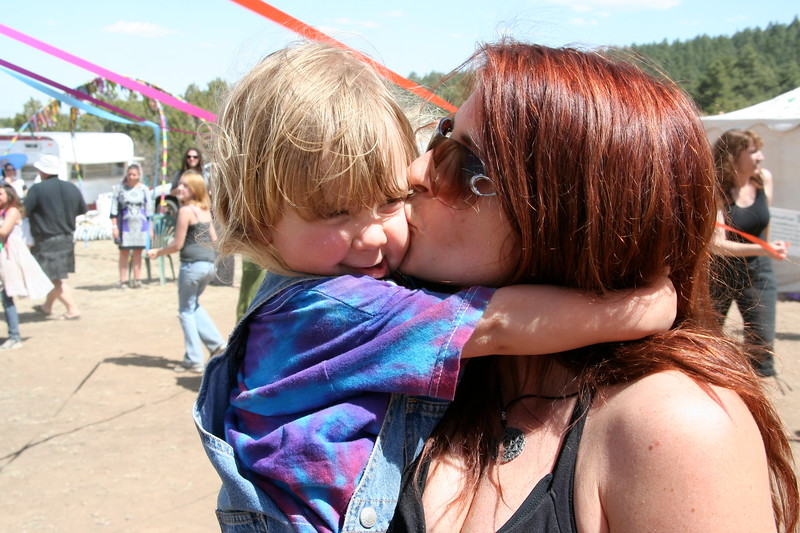 Kisses for kids, too