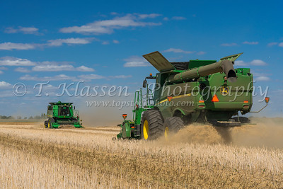 Froese Farm - Canola Harvest 2019