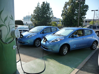 NISSAN LEAF ~ Jeanie Anderson