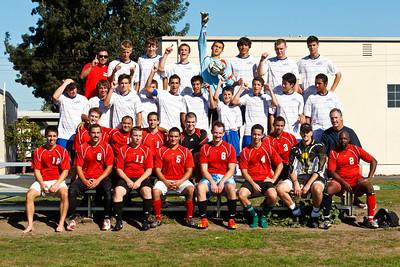 RCS' Varsity Boys' Soccer vs RCS Alumni - Oct 20, 2011