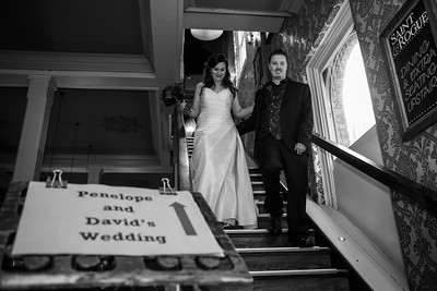 Penny and David - Wedding