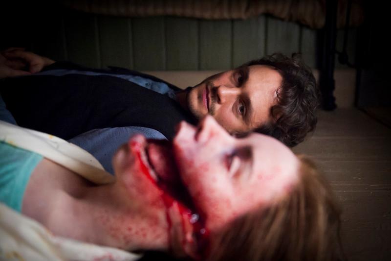 ". Hugh Dancy (\""Black Hawk Down\"") as Will Graham in \""Hannibal,\"" \""Buffet Froid\"" Episode 110. (Photo by: Brooke Palmer/NBC)"