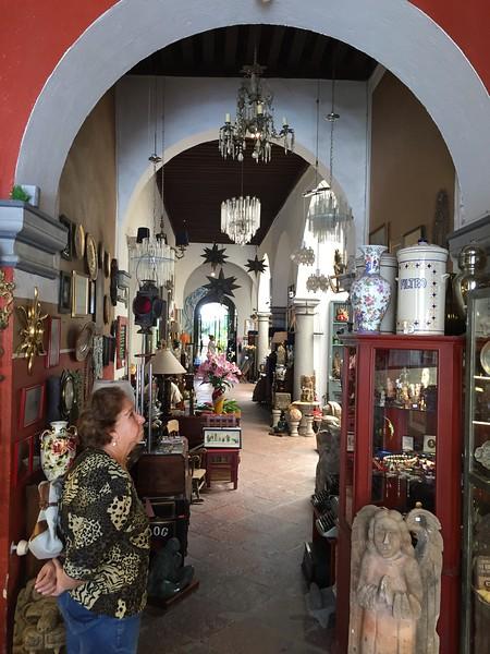 Casa del Atrio, Queretaro, Dave Millers Mexico