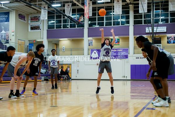 Broughton basketball vs Northern Nash. November 13, 2019. D4S_9381