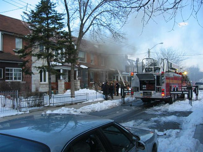 February 23, 2005 - 3rd Alarm - 126 Pendrith St.