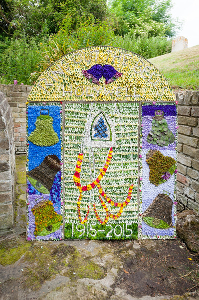 Holywell Well Dressing