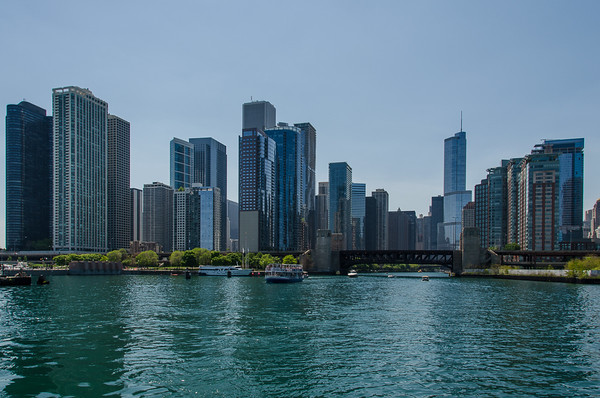 View from the Chicago river | 7 Best Views in Chicago