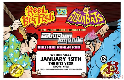 The Aquabats & Reel Big Fish January 19, 2011