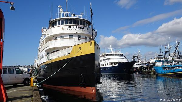 20 Apr 2019 UnCruise Adventures Vessels Seattle